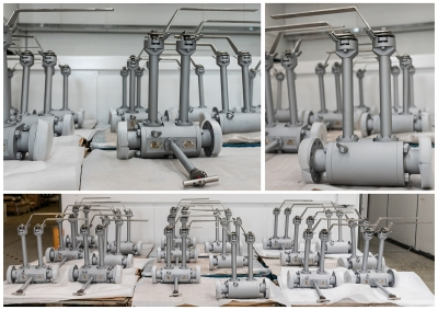Cryogenic valves for LPG Train 4 – ZCINA Hassi Messaoud project